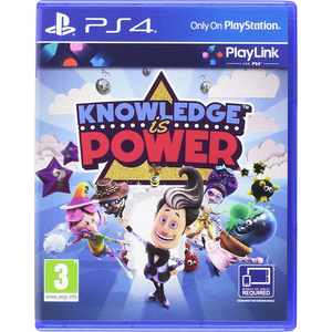 Sony PS4 Knowledge Is Power