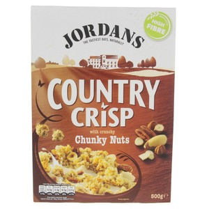 Jordan's Country Crisp With Crunchy Chunky Nuts 500g