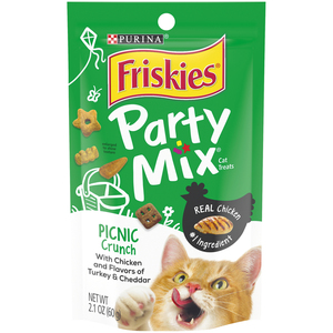 Friskies Party Mix Crunch Picnic 60gm