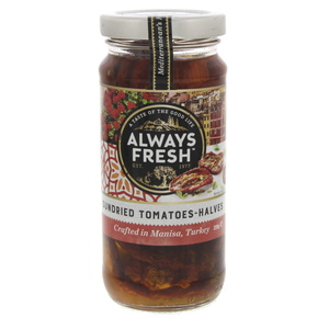 Always Fresh Sundried Tomatoes - Halves 220g