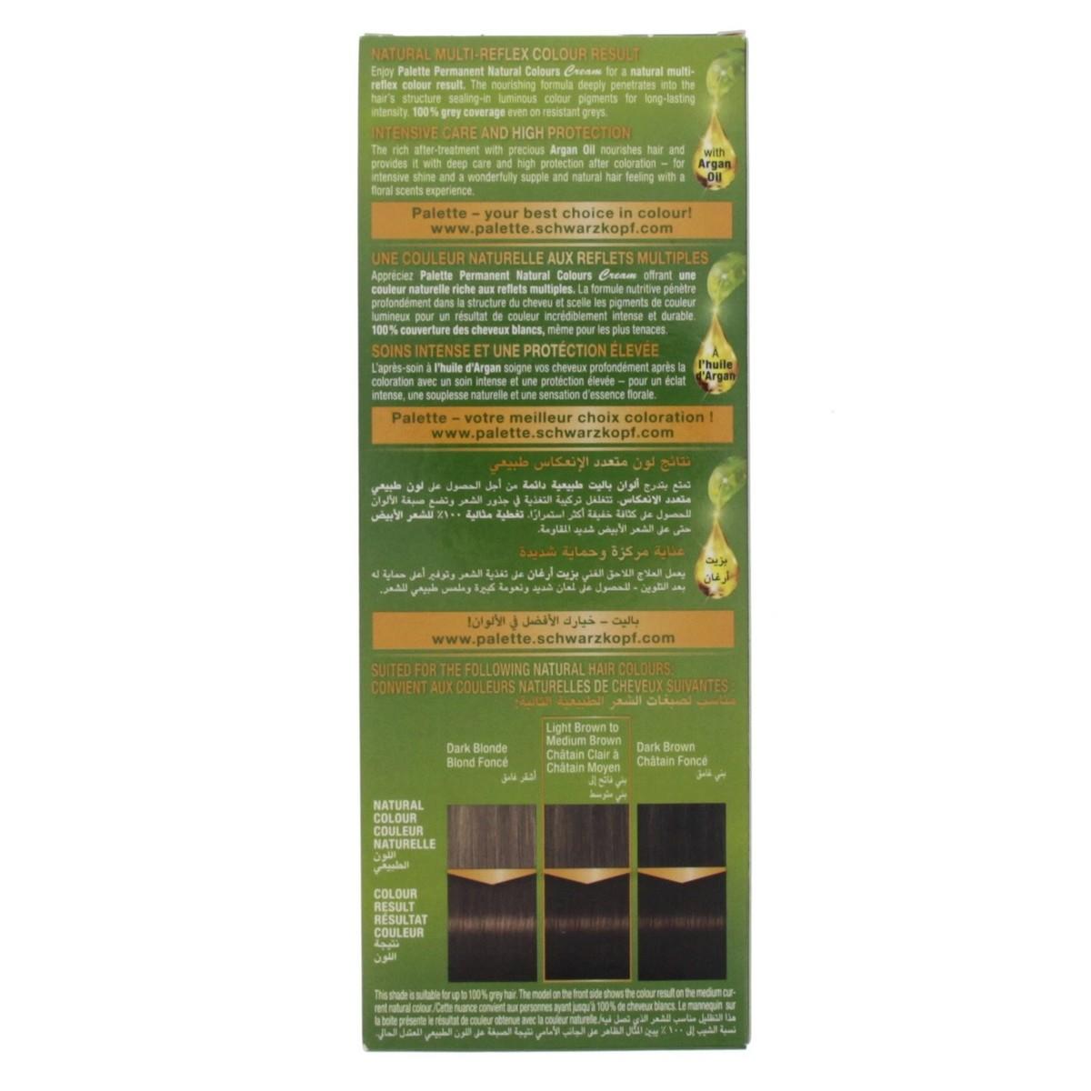 Buy Palette Permanent Natural Color Cream Golden Brown 4 60