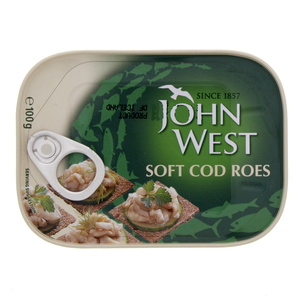John West Soft Cod Roes 100g
