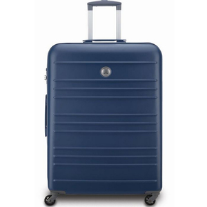 Delsey Carlit 4 Wheel Hard Trolley 55cm Blue