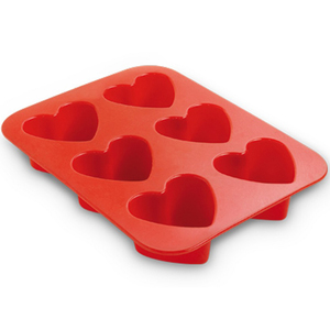 Gardina Hearts Baking Pan 6cup