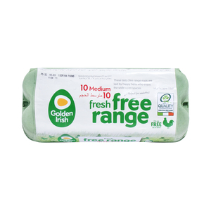Golden Irish Fresh Free Range Egg 10pcs