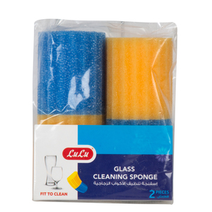 Lulu Glass Cleaning Sponge 2pcs