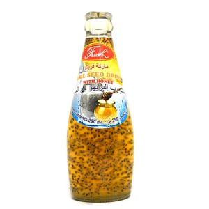 Fresh Basil Seed Drink With Honey 290ml