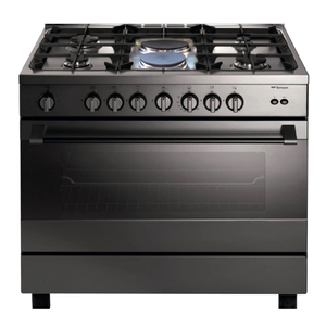 Bompani Cooking Range BO683MK/L 90x60 4Gas + 2Electric Burners
