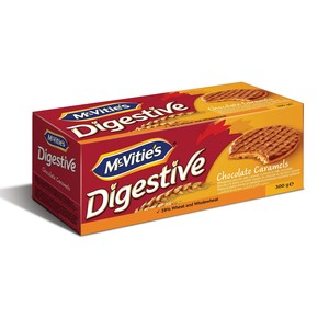 Mc-Vities Digestive Chocolate Caramels 300g