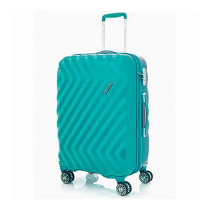 American Tourister  Zavis 4 Wheel  Hard Trolley 55cm Turquoise