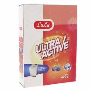 Lulu Ultra Active Washing Powder Top Load 400g