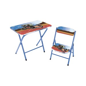 Home Style Study Table + Chair KT0248 Blue