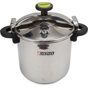 Monix Stainless Steel Pressure Cooker 10Ltr