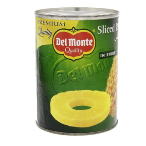 Del Monte Sliced Pineapple In Syrup 567g