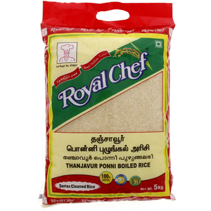 Royal Chef Thanjavur Ponni Boiled Rice 5kg