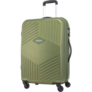 American Tourister Trillion 4 Wheel Hard Trolley 68cm Olive