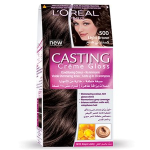 L'Oreal Casting Creme Gloss Light Brown 500 1 Kit