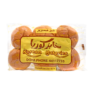 Korean Bakeries Hamburger Bun 6Pcs