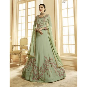 Semi Stitched Women's Anarkali Suit Zubeda Seher 14902