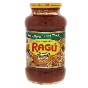 Ragu Chunky Roasted Garlic Sauce 680g