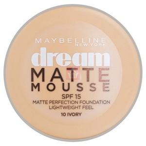 Maybelline Dream Matte Mousse Foundation Ivory 10 1pc