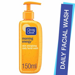 Clean & Clear Daily Facial Wash Morning Energy Skin Energising 150ml