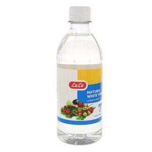 Lulu Natural White Vinegar 473ml