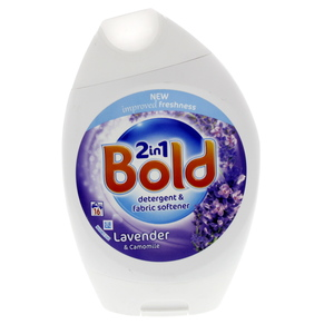 Bold 2In1 Detergent & Fabric Softener Lavender & Camomile  592ml