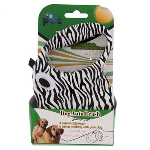 Pet Zone Dog Auto Leash Assorted 1pc