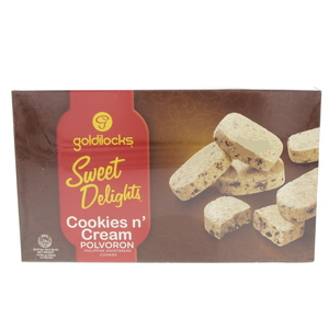 Goldilocks Sweet Delights Cookies n' Cream Polvoron 300g