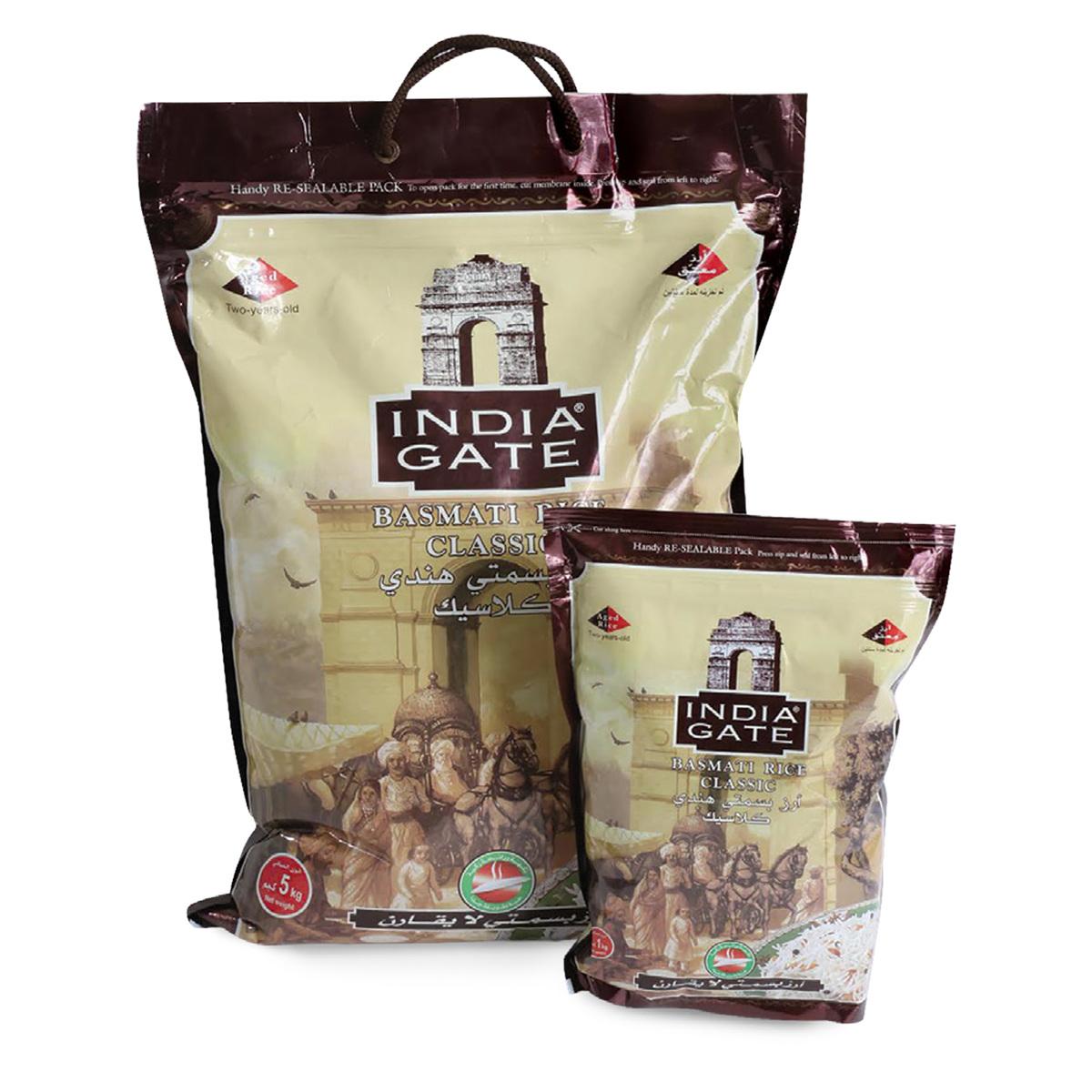 Buy India Gate Basmati Rice 5kg + 1kg - Basmati - Lulu