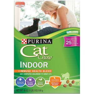 Purina Cat Chow Indoor Dry Food 510 Gm