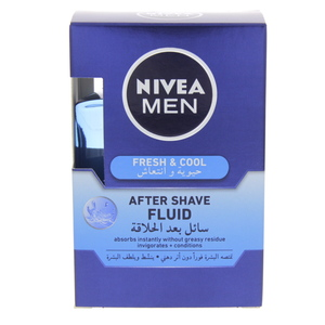 Nivea Men Fresh And Cool After Shave Fluid 100ml