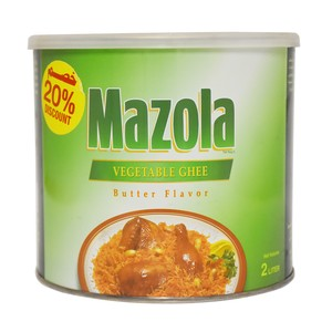 Mazola  Butter Flavored Vegetable Ghee 2Litre