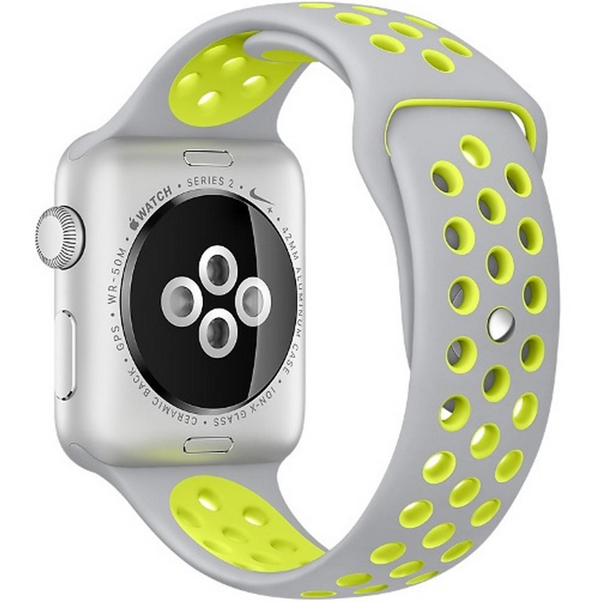 varios estilos precio especial para seleccione original Buy Apple Watch Series 2 Nike+ MNYQ2 42mm Silver Aluminum Case ...