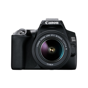 Canon DSLR camera EOS250D 18-55mm STM Black