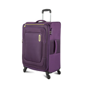 American Tourister Duncan 4Wheel Soft Trolley 55cm Purple