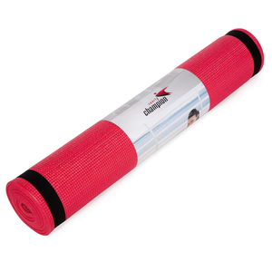Sports Champion Yoga Mat 4mm Assorted