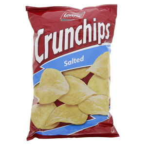 Lorenz Crunchips with Salted 175g