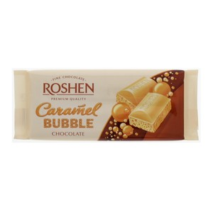 Roshen Caramel Bubble White Chocolate 85g
