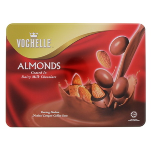 Vochelle Almonds Coated In Dairy Milk Chocolate 380g