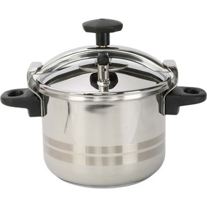 Evinox Stainless Steel Pressure Cooker Classic 10Ltr
