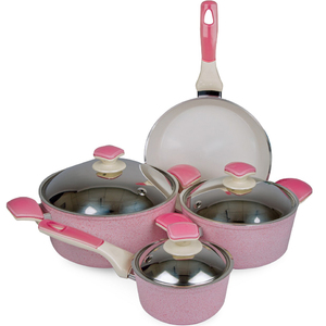 Chefline Cookware Set 7pcs Assorted Color