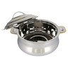 Shah Stainless Steel Hot Pot SAMEERA 3.5Ltr