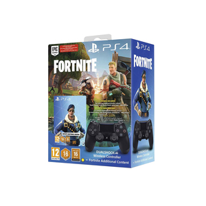 Sony DualShock 4 Wireless Controller for PlayStation 4 - Fornite Bonus Content Bundle