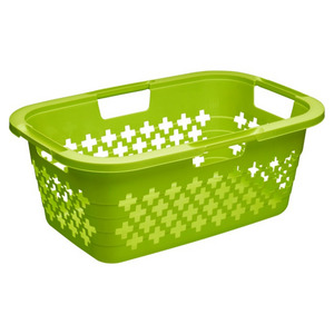 Rotho Laundry Basket Green 37Ltr