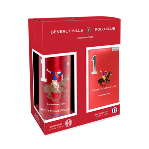 Beverly Hills Polo Club Sport 1 EDT for Men 100ml + Beverly Hills Polo Club Sport 1 Deodorant 175ml
