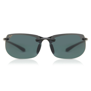 Maui Jim Men's Sunglass Rectangle Polarized 412-02