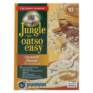 Jungle Oatso Easy Caramel Flavour 500g