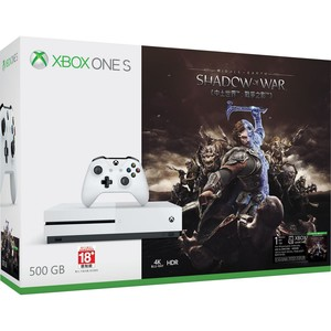 Xbox OneS 500GB+Shadow of War+1Month Game Pass